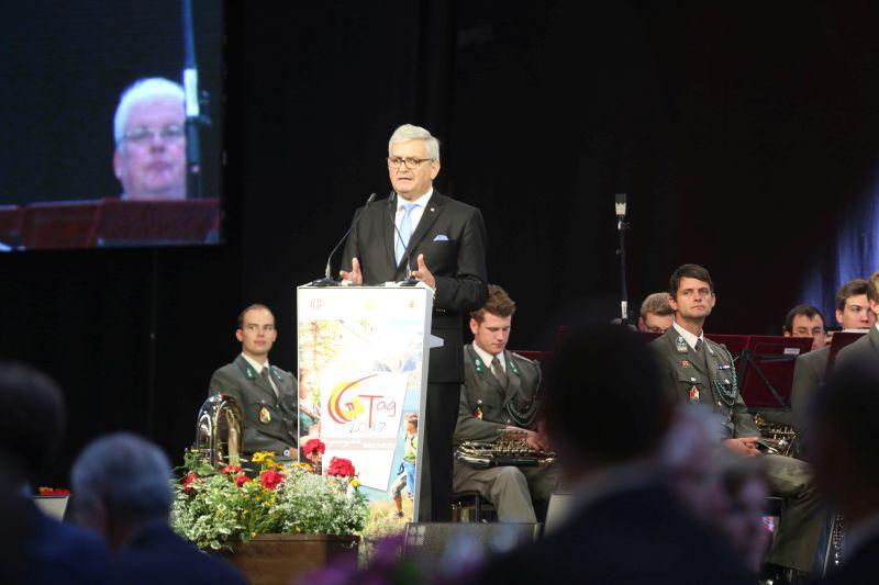 """Neuer Gemeindebund-Chef Riedl: """"Wir können nicht ständig Ausfallshafter für Vorhaben des Bundes sein"""" ©Schuller"""