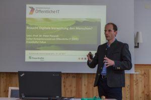 Peter Parycek, Leiter des Departements für E-Governance in Wirtschaft und Verwaltung an der Donau-Uni Krems, prognostiziert die Automatisierung zahlreicher Verwaltungsabläufe. ©event-fotograf.at