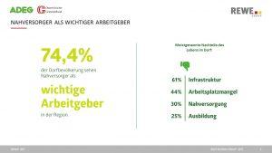 2. Nahversorger als Arbeitgeber (Dorfleben-Report 2017)