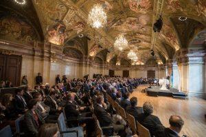 Das Palais Niederösterreich war Schauplatz der Feier. Mehr als 200 Gäste wohnten der Feier bei. ©Jürg Christandl/Gemeindebund