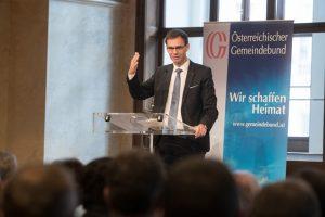 Landeshauptmann Markus Wallner unterstützt edie Forderung nach einem Pflegekonvent. ©Jürg Christandl/Gemeindebund
