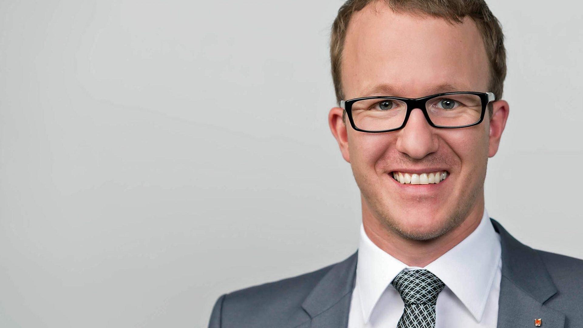 Christian Gantner ist neuer Landesrat in Vorarlberg. ©Vorarlberger Volkspartei