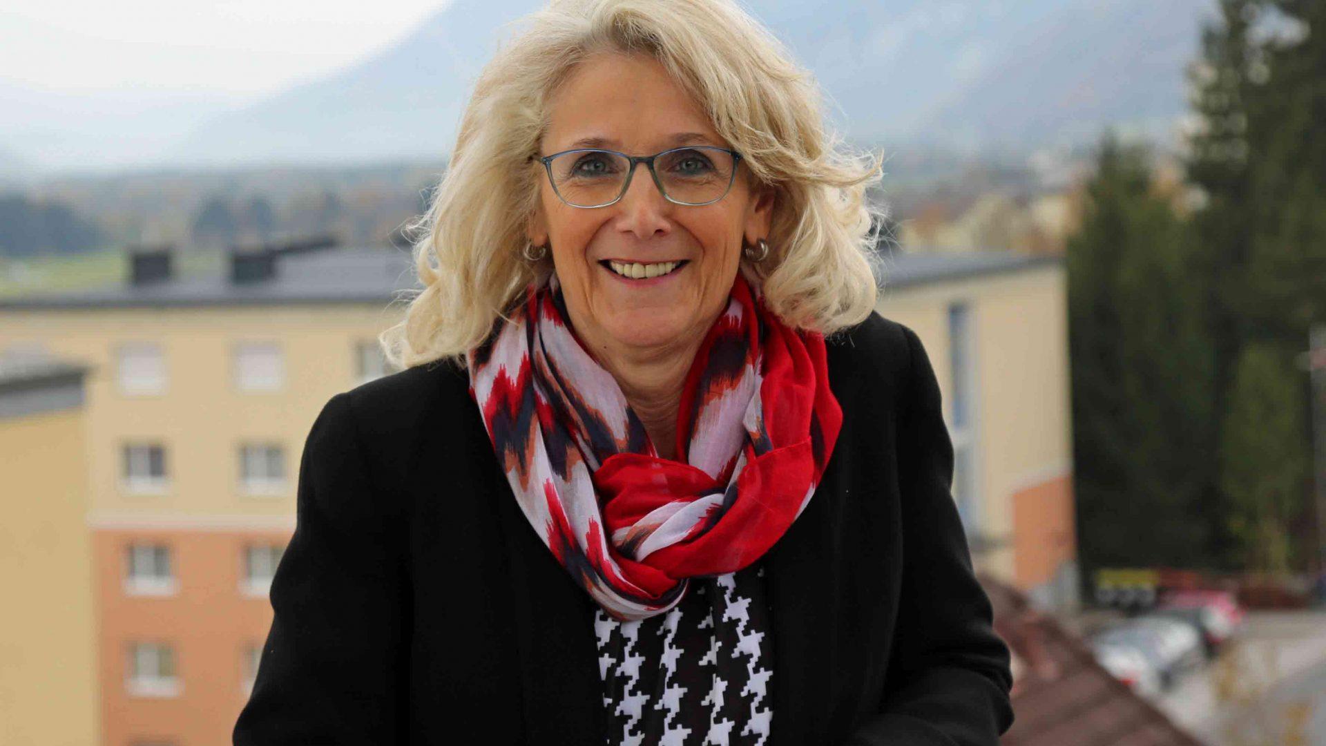 """Roswitha Glashüttner wird am 2. Jänner 2018 das Bürgermeisteramt in Liezen übernehmen. """"Ich freue mich unglaublich, dass mir dieses Vertrauen geschenkt wird"""", so die 60-Jährige. (Bild: ZVG)"""