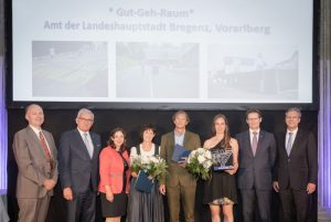 """Sieger der Kategorie """"Gemeinde / Städte"""": Amt der Landeshauptstadt Bregenz ©KFV/APA-Fotoservice/Buchacher"""