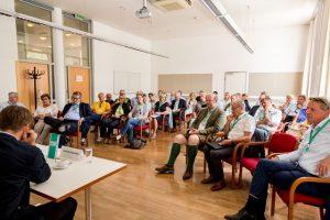Das Forum 1 war sehr gut besucht und wurde von Christina Pausackl (Profil) geleitet. ©event-fotograf/Gemeindebund