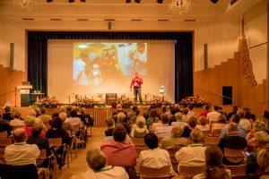 Impuls-Vortrag von Hannes Eilers (Robotiker der FH Kiel). ©event-fotograf/Gemeindebund