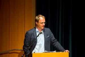 Impuls-Vortrag von Univ.-Prof. Mag. Dr. Markus Hengstschläger (Genetiker Med Uni Wien). ©event-fotograf/Gemeindebund