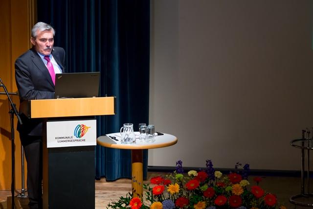 Impuls-Vortrag von Mag. Alois Steinbichler (Chef der Kommunalkredit). ©event-fotograf/Gemeindebund
