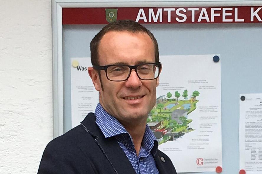 Wolfgang Viehhauser ist seit 1. August 2018 Bürgermeister von Kleinarl in Salzburg. (Bild: ZVG)
