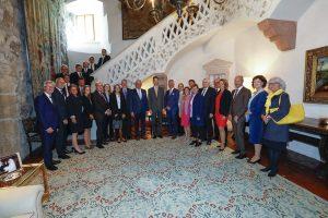 Kommunalvertreter aus Liechtenstein, der Schweiz und Österreich trafen sich im Vorfeld des Österreichischen Gemeindetages zum Austausch. ©Travel-lightart.com