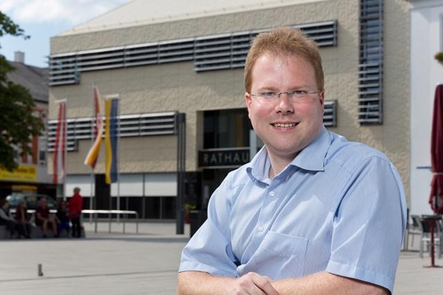 MIt 32 Jahren der jüngste Ortschef des Bezirks - Neo-Bürgermeister Christoph Artner (Bild: ©Werner Jäger)