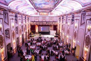 Die Preisverleihung fand bei feierlichem Ambiente im Haydnsaal im Schloss Esterházy statt. ©ÖSP 2019 Stefan Joham