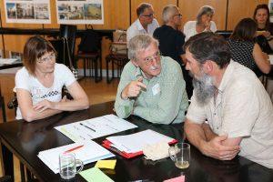 Die Teilnehmer waren aus vielen unterschiedlichen Bundesländern angereist. In der Mitte ein Teilnehmer aus der Gemeinde Volders in Tirol. (Bild: ZVG)