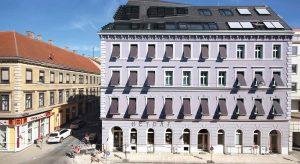 Das Gründerzeit-Mehrfamilienhaus in 1150 Wien zeigt, dass Passivhausstandard auch bei historischer Architektur umsetzbar ist. ©Isabella Wall