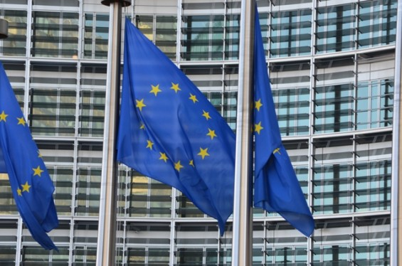 EU-Flaggen_Berlaymont_Bruessel_BR_Gemeindebund