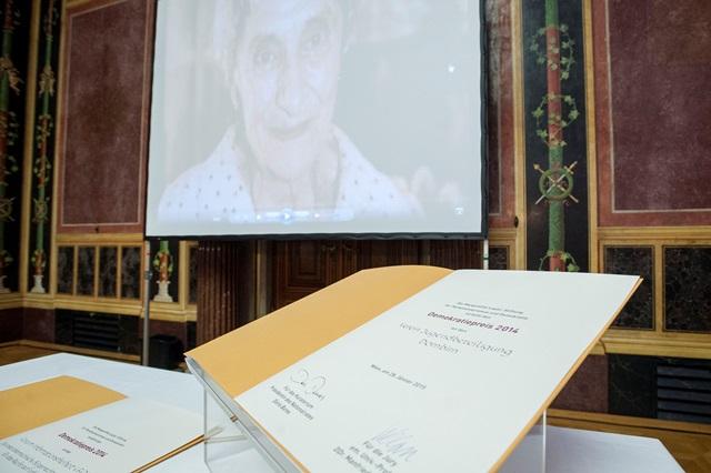 Margaretha-Lupac-Demokratiepreis_BR_Parlamentsdirektion_BildagenturZolles_KG_Jacqueline_Godany_