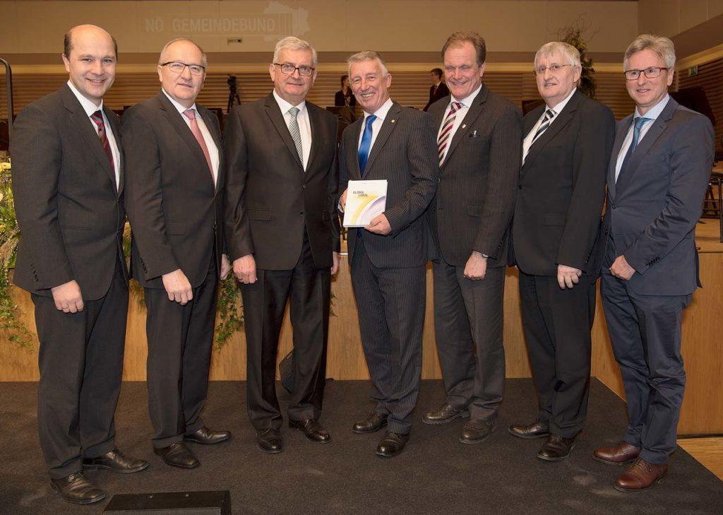 Neujahrsempfang_NOE_Gemeindebund_Gemeindebundspitzen_BR_NOE_Gemeindebund_Erich-Marschik_WEB