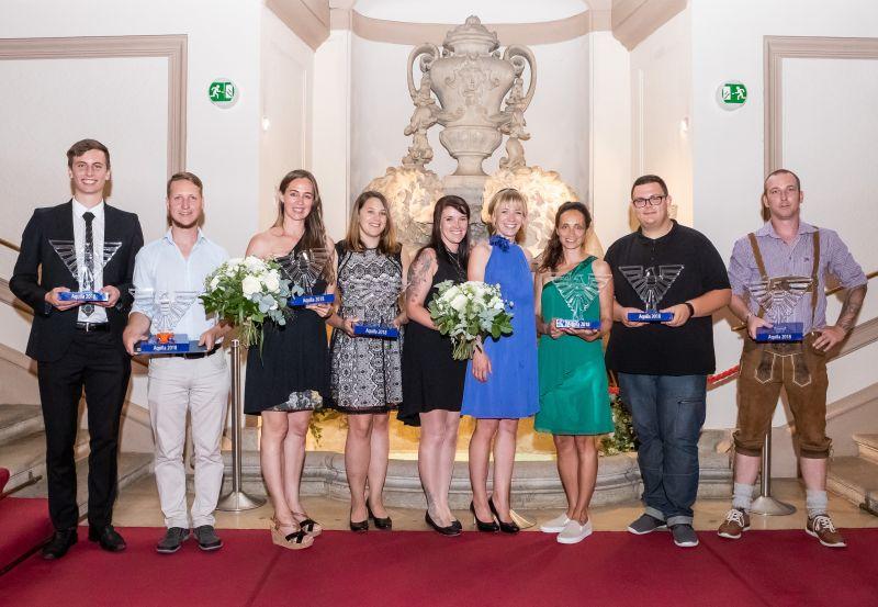 Am 21. Juni 2018 wurde der Aquila 2018 im Palais Auersperg verliehen. ©KFV/APA-Fotoservice/Buchacher