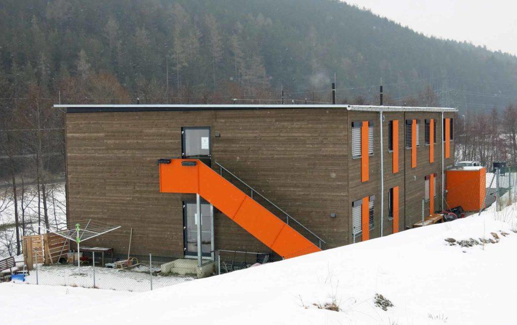 Das Asylwerberheim in Sistrans wurde 2016 bezogen. (Bild: ZVG)
