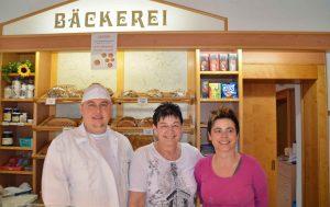 Die örtliche Bäckerei Gruber hat sich schnell mit dem neuen System angefreundet. (Bild: ZVG)