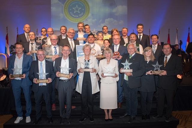 Die Gewinner des diesjährigen Climate-Star Awards. (Bild: Klimabündnis)