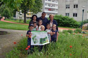 Dafür wurde unter anderem ein Naturschaugarten mitten in der Stadt gestaltet. Die Bevölkerung soll bereits vergessene Blumen wieder wahrnehmen. ©Stadtgemeinde Mattersburg