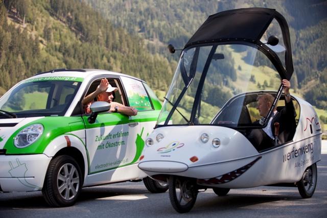 Die EU-Kommission schlägt für Österreich eine Quote von 35 Prozent sauberer/energieeffizienter leichter Nutzfahrzeuge bis 2025 vor. ©Tourismusverband Werfenweng - Bernhard Bergmann
