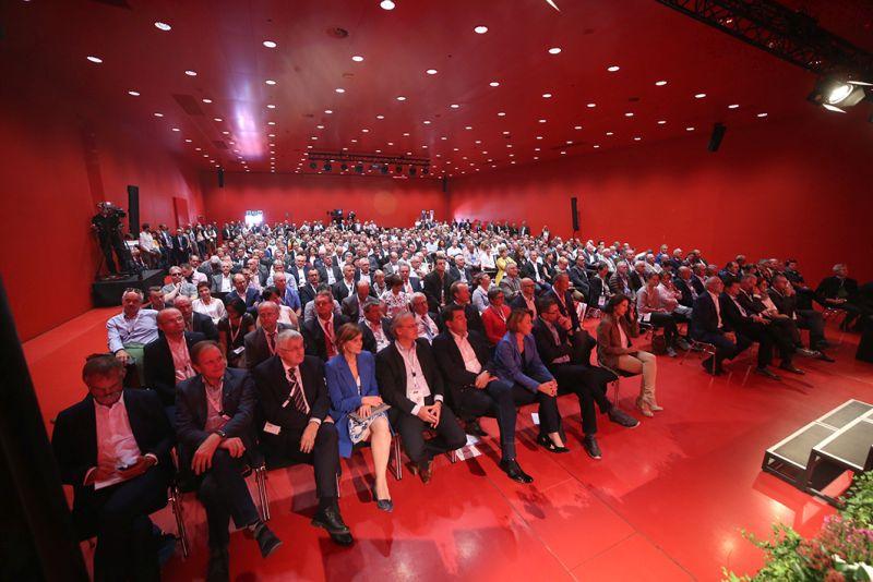 Die Eröffnung des Österreichischen Gemeindetages 2018 in Dornbirn. ©Schuller/Gemeindebund