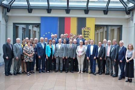 Am 4. und 5. Juni trafen sich der Österreichische Gemeindebund und der Deutsche Städte- und Gemeindebund beim gemeinsamen Europatag. ©Gemeindebund