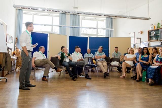 Das Forum 3 wurde von Matthias Hofer (Kurier) geleitet. ©event-fotograf/Gemeindebund