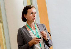 Vortragende Prof. Dr. Brigitta Nöbauer von der FH Oberösterreich. ©event-fotograf/Gemeindebund