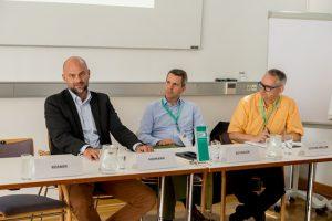 Impulsgeber des Forum 4 waren Mag. Philipp Hermann, Mag. Leopold Reymaier und Gernot Jochum-Müller, MSc. ©event-fotograf/Gemeindebund