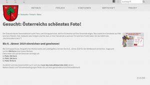 Die Ankündigung auf der Ferlacher Homepage hat geholfen: 17 Ansichten wurden aus dieser Gemeinde eingereicht. (Quelle: www.ferlach.at)