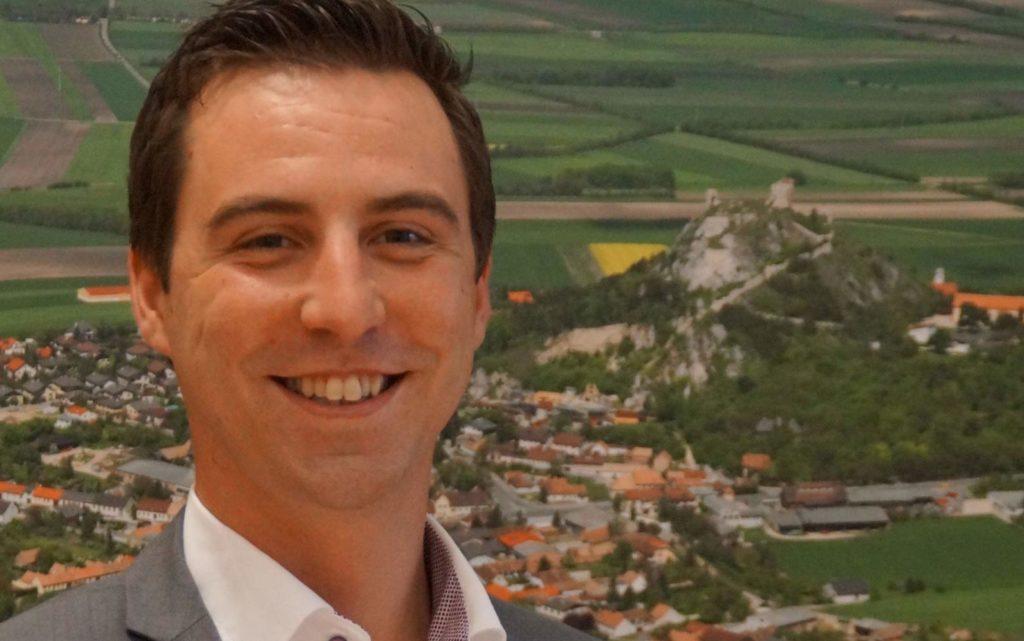 """""""Gemeinsam sind wir stark"""", lautet das Motto des neuen Bürgermeisters der Gemeinde Staatz. (Bild: ZVG)"""