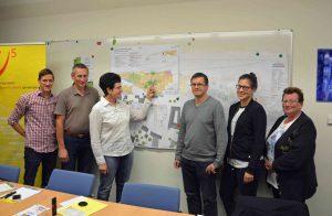"""Das Projekt der Gemeinde, die """"Klimafreundliche Siedlungsentwicklung"""", setzt sich zum Ziel, freie Plätze im Inneren Krummnußbaums zu füllen. (Bild: Energie und Umweltagentur NÖ)"""