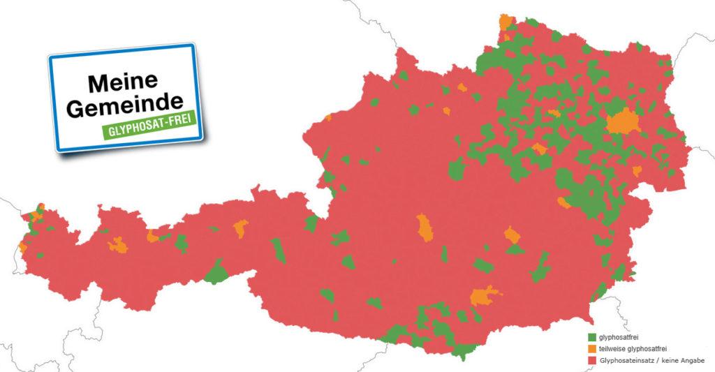 Gemeinden, die nicht in der Landkarte aufscheinen, aber sich auch zu einer pestizidfreien Grünraumpflege bekennen, können sich per E-Mail an service@greenpeace.at wenden. ©Greenpeace