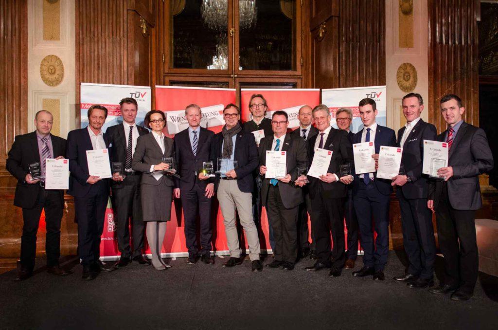 Unter den Gewinnern fanden sich mehrere Bundesländer und große sowie mittlere Gemeinden. ©Wiener Zeitung/Simon Rainsborough