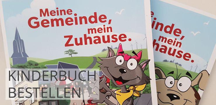 kinderbuch werbeblock