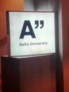 Die Aalto Universität in Espoo zeugt vom Wandel Finnlands zum Innovationszentrum. ©Gemeindebund