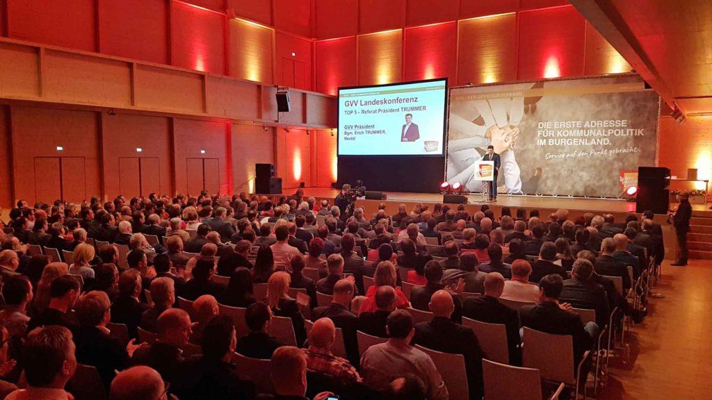 GVV-Präsident Erich Trummer wurde von 299 Delegierten wiedergewählt. (Bild: ZVG)