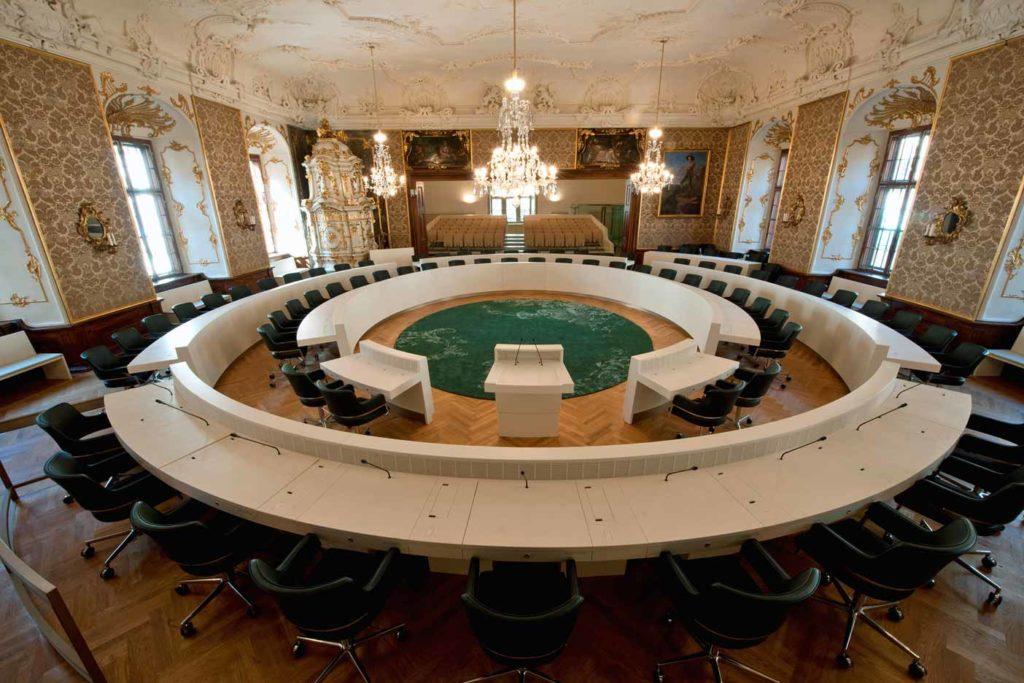 Das neue Regionalentwicklungsgesetz wurde am 14. November 2017 mit den Stimmen von ÖVP, SPÖ und FPÖ im Landtag beschlossen. ©Landtag Steiermark/Grumet