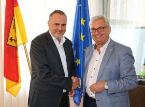 Landeshauptmann Mag. Hans Peter Doskozil und Präsident Bgm. Mag. Alfred Riedl ©Gemeindebund