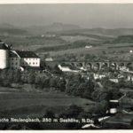 Österreichweit gibt es die meisten Ansichtskarten von Niederösterreich, hier ist Neulengbach im Jahr 1939 zu sehen. ©Akon/Österreichische Nationalbibliothek