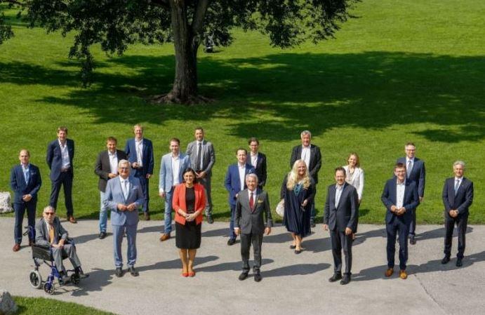 Das Landpaket wurde am Freitag, 24. Juli 2020, im Beisein aller Kooperationspartner präsentiert. ©Gemeindebund