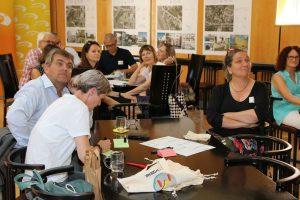 Bei einem Open Space konnten die Teilnehmer/innen sowohl ihre Fragestellungen als auch ihre Erfahrungen einbringen. (Bild: ZVG)