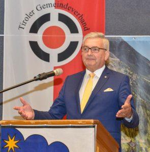 Gemeindebund-Präsident Alfred Riedl pocht auf Beschluss. ©TGV/Daniel Liebl