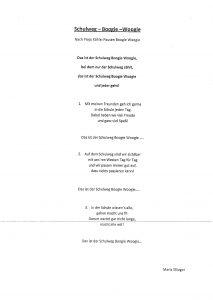 """Der eigens komponierte """"Schulweg-Boogie-Woogie wurde mit den Kindern einstudiert. (Bild: ZVG)"""