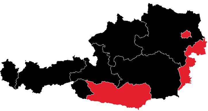 sterreich_Karte