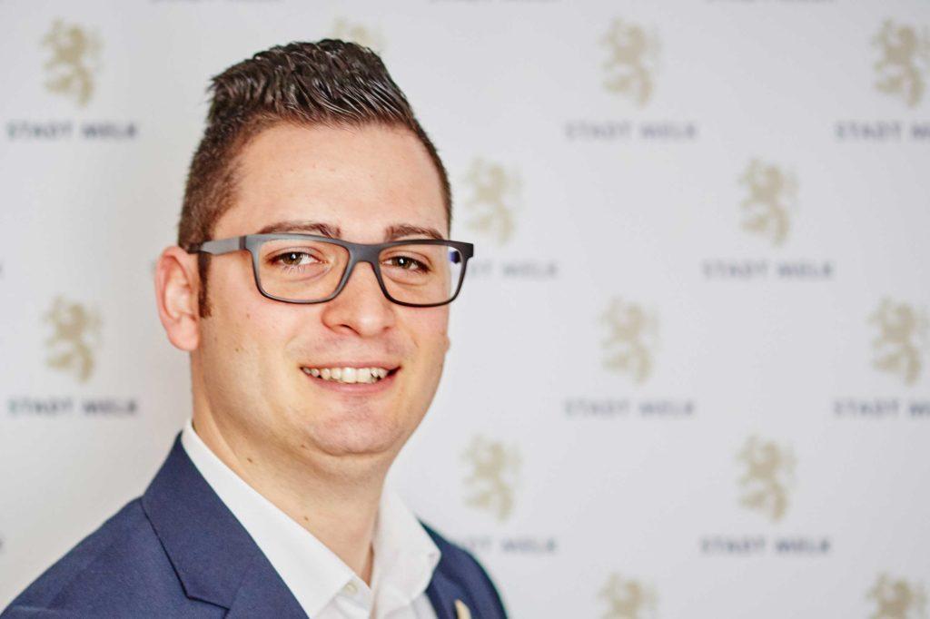 Patrick Strobl ist mit 31 Jahren jüngster Bürgermeister von Melk (Bild: ZVG)
