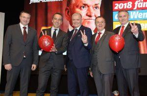 Beim Neujahrsempfang der sozialdemokratischen Gemeindevertreter in Niederösterreich stimmte man sich mit 1.500 Besuchern auf die Landtagswahl ein. ©NÖ GVV